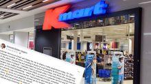Kmart shopper offers urgent warning over receipt scam