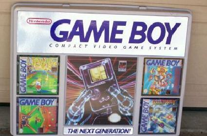 Advertise the Game Boy to yourself every day