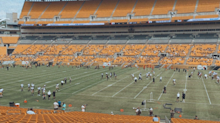 Fans back at Heinz Field to take in first day of Steelers training camp