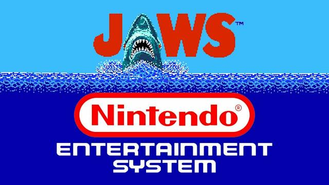 Classic Shark Video Games - The Totally Rad Show