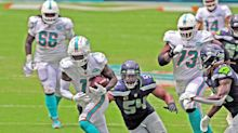DeVante Parker posts a career mark, but can't help Dolphins' red-zone woes