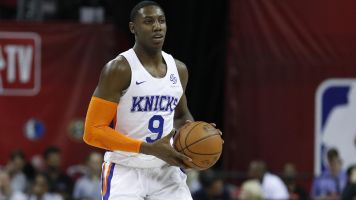 Knicks rookie says he wants to posterize KP