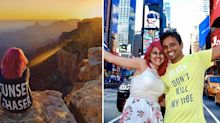 The truth behind Instagram bloggers who plunged to their deaths taking selfie at tourist spot