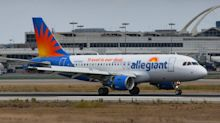 Allegiant Air forced a passenger off a plane after he asked a flight attendant to put on a face mask.