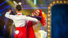 Falling for Movie Week: Two 'Strictly Come Dancing' stars take a tumble