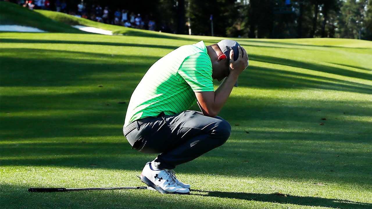 'Unbelievably unlucky': Shot that is 'too perfect' costs golfer victory