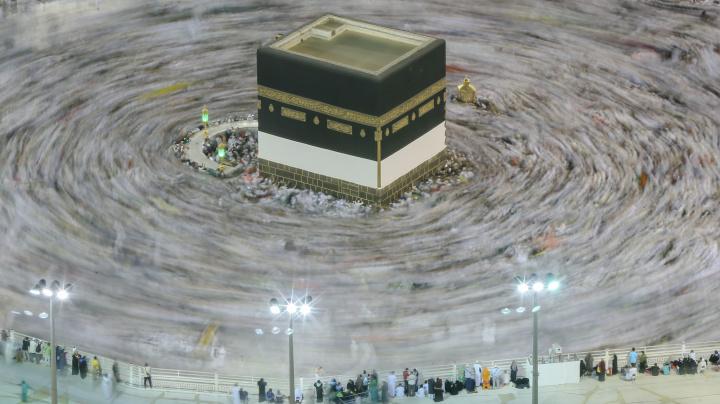The massive scale of the Muslim hajj pilgrimage
