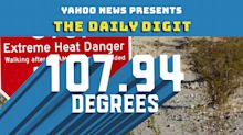 Daily Digit: Death Valley just had the hottest month ever recorded on Earth