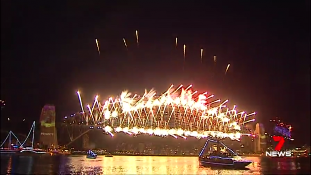 happy new year australia welcomes 2018 with a bang