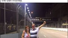 Man who allegedly bribed guard to enter F1 track retracts claims