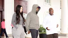 Kim Kardashian Met the President of Uganda And, LOL, He Asked Her What Her Job Is