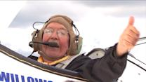 Veterans take to the sky in World War II plane