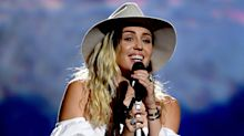 "Miley Cyrus Pours Her Heart into Performing ""Malibu"" at the Billboard Music Awards"