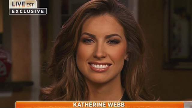 Katherine Webb's Funny Clip Lands Her Reality Show
