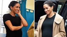 What Meghan Markle's belly button popping tells us about her pregnancy