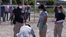Pobladores de Huixcolotla, Puebla, linchan a un hombre junto a comandancia municipal