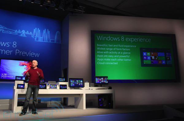 Microsoft's Windows 8 Preview event videos now available