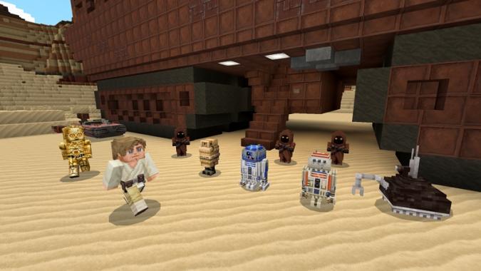 Star Wars by Minecraft
