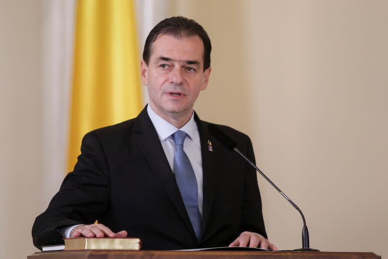 Romanian legislators topple PM Orban's government
