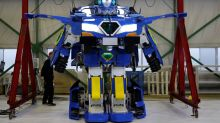 Transformers-Style Robot Turns Into a Car in 60 Seconds
