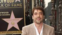 Javier Bardem gets Walk of Fame star