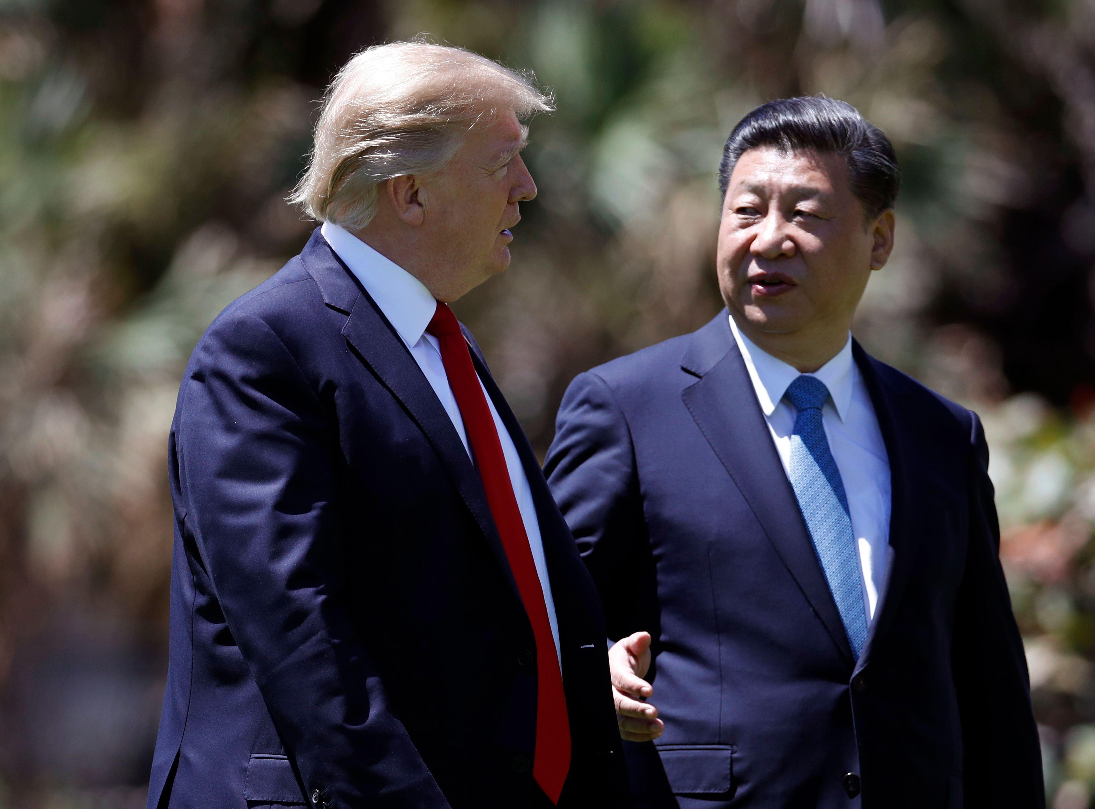 'We won't back down.' Donald Trump talks tough on China trade ahead of high-stakes meeting