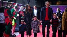 Duke and Duchess of Cambridge surprise key workers' children with presents at panto