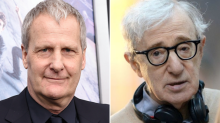 Jeff Daniels believes Dylan Farrow but says turning down Woody Allen would be a 'difficult decision'
