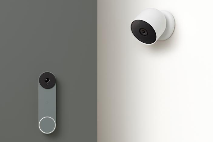 Google's new Nest Cam and Doorbell can run on batteries