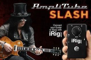 IK Multimedia announces AmpliTube SLASH for iOS and Mac