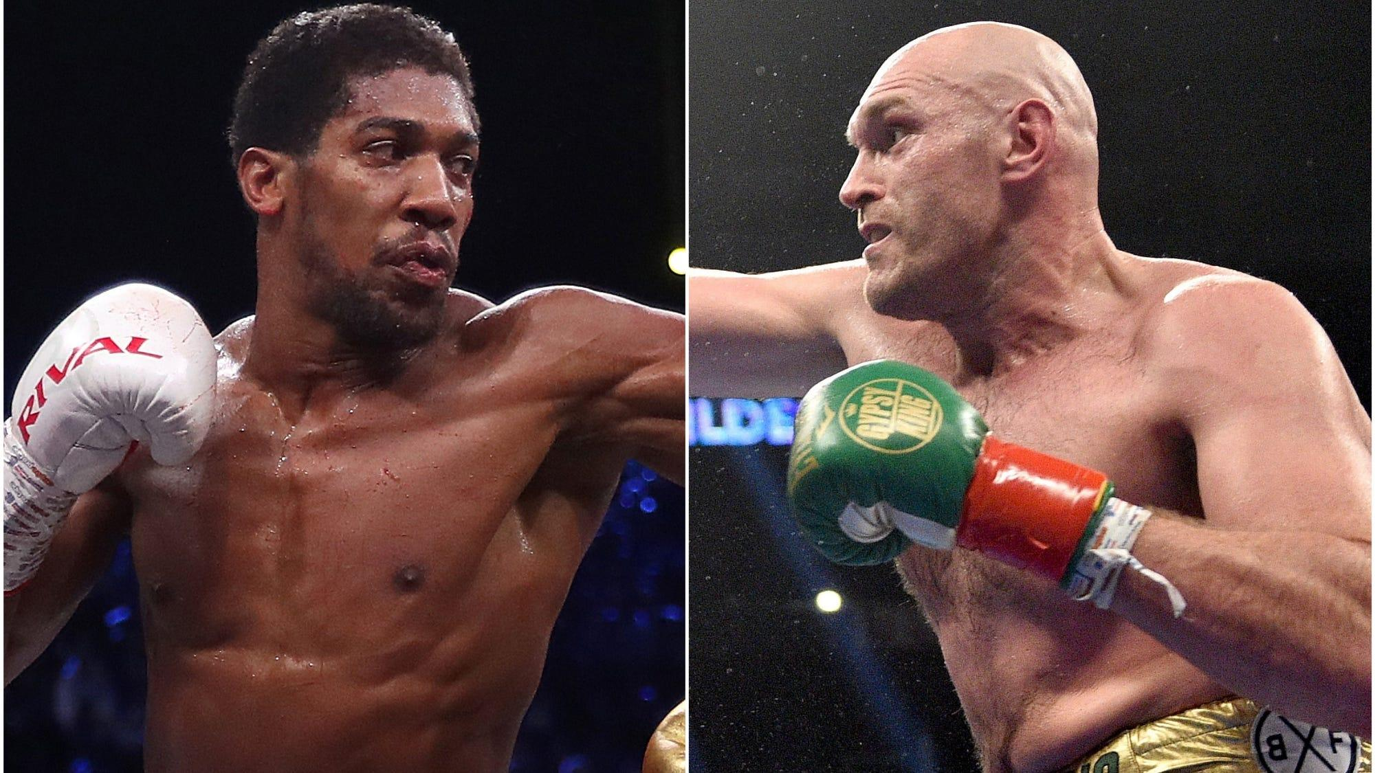 Image What is the latest on Anthony Joshua and Tyson Fury's blockbuster fight?