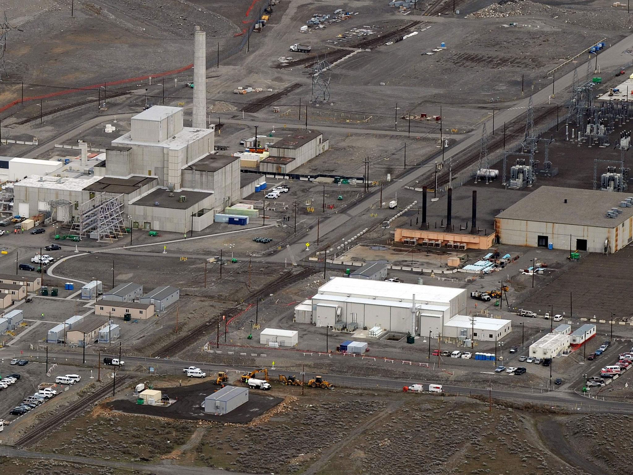 Hanford nuclear emergency: Workers take cover at 'most toxic place in America' after tunnel collapse