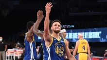Watch Curry, Warriors rally from 14 down in fourth, beat Lakers 115-113