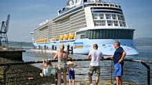 Cruise ship stocks get hit after 6 Royal Caribbean passengers test positive for COVID-19