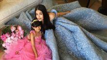 Aishwarya Rai Bachchan cuts a birthday cake inspired by her Cannes 2017 Cinderella look