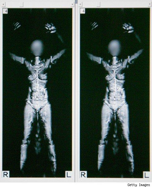 TSA's Millimeter scanners see through clothes, installed at 10 airports
