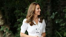 See Kate Middleton's perfect white summer dress