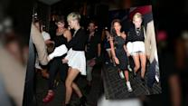 Miley Cyrus Suffers Wardrobe Malfunction in Short Shorts