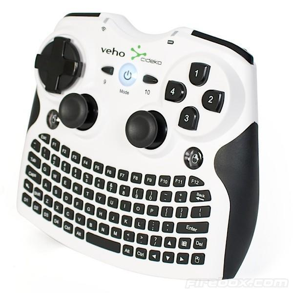 Veho's Mimi all-in-one HTPC controller attempts to be a gamepad, looks overwhelming