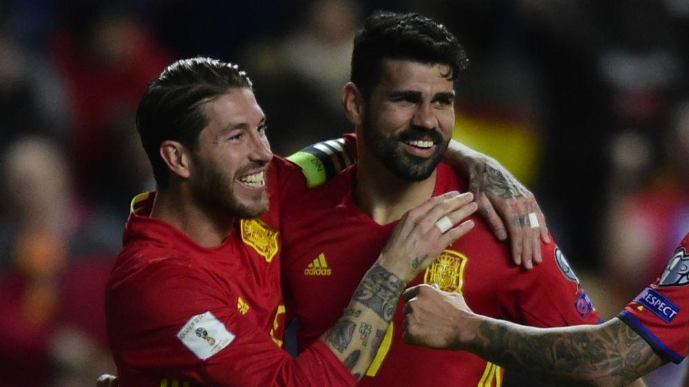 "Espagne, Diego Costa : ""Je m'adapte à la manière de jouer ici"""