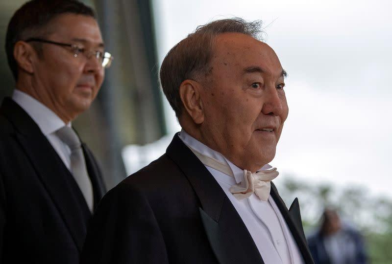 Kazakhstan's ex-president is asymptomatic after positive coronavirus test, report says