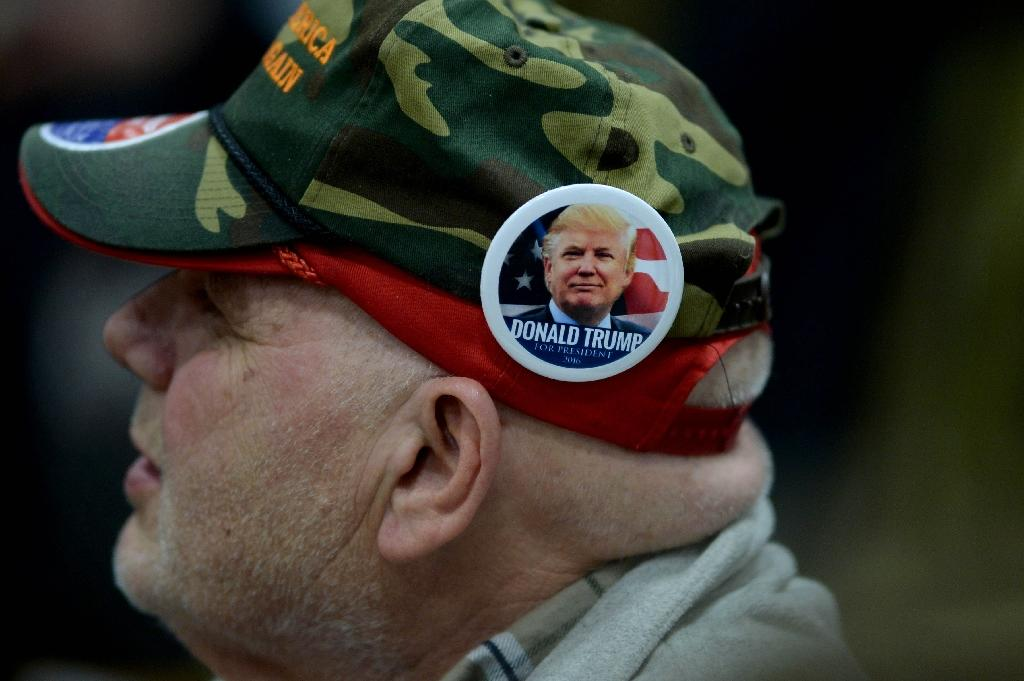 """Republican presidential candidate Donald Trump described a Trump-Hillary Clinton general election matchup as """"her worst nightmare"""" and warned rivals against attacking his campaign (AFP Photo/Darren McCollester)"""