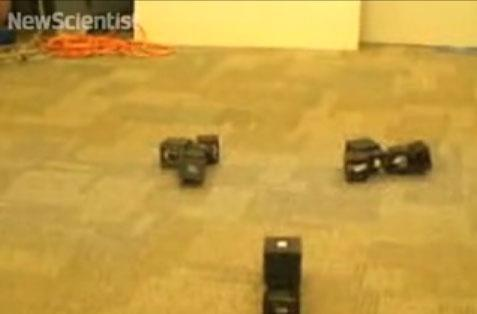 Modular, shape-shifting robots get right back up to creep you out