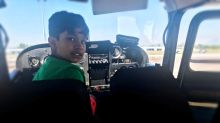 He's too young to drive, but this Brampton teen wants to be the youngest ever to fly solo