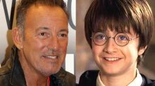 Bruce Springsteen wrote a song for Harry Potter which the movies never used