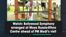 Watch: Bollywood Symphony arranged at Moya Russia-Ethno Centre ahead of PM Modi's visit