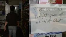 Business owners lose thousands after huge power outage