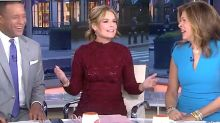 Savannah Guthrie Handles Wardrobe Mishap Like A Pro On 'Today'