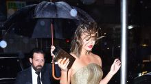 Chrissy Teigen Narrowly Avoids Wardrobe Malfunction