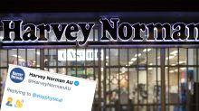 Harvey Norman cops heated backlash for 'revolting' tweet